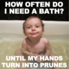 How often should you bathe your baby?