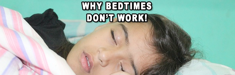 no time for bedtime