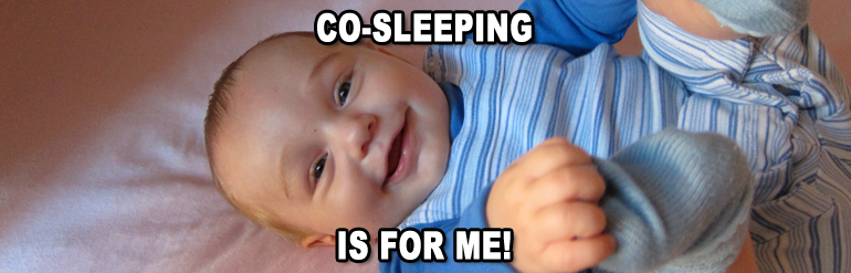 Co-sleeping is for me