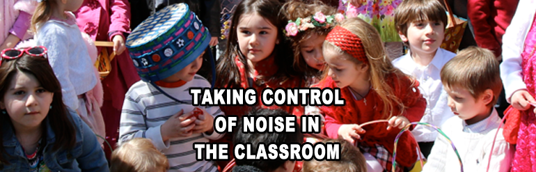 Managing classroom noise level