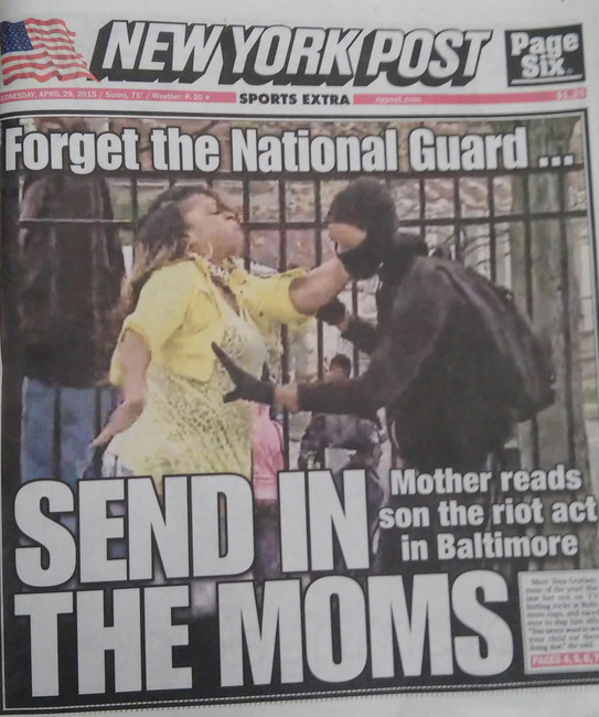 Send in the Moms