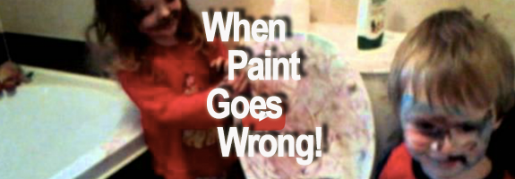 When paint goes wrong