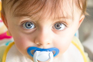 baby pacifier addiction